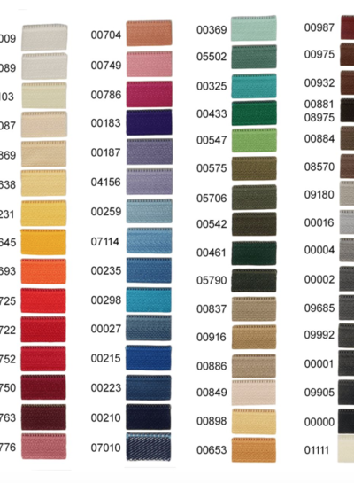 Optilon S40 zipper 15 cm - many colors