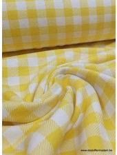 gele vichy - tricot
