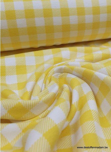 yellow vichy - jersey
