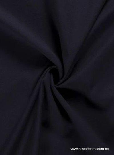 marineblauw - washed cotton twill