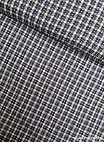 Hugo boss checked print green - soft cotton