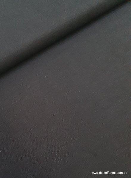 black linen cotton mix