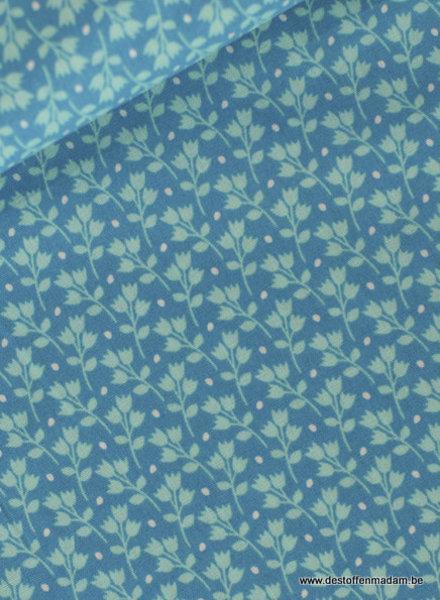 kitchen garden blauw - web