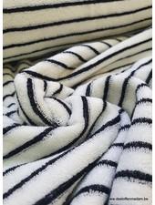 black stripes terry