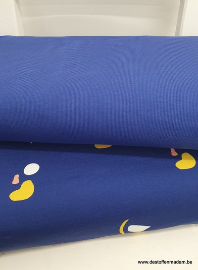 Chat Chocolat blue boordstof - chat chocolat