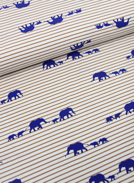 elephant walk cobalt - tricot
