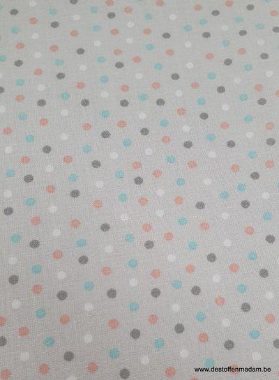 confetti polyester katoen