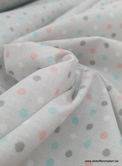 confetti polyester cotton