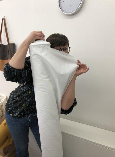 1 meter FACE MASK fabric petrol blue- cotton