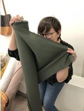 1 meter FACE MASK fabric khaki- cotton