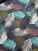 dusty blue leaves - tricot