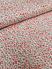red flowers - liberty style - viscose twill