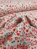 rode bloemetjes - liberty style - viscose twill