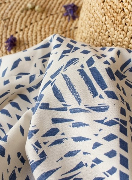Shade Cobalt - viscose