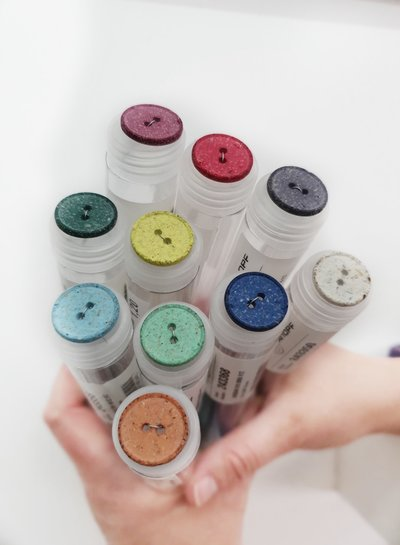 hele mooie knoop van gerecycleerd polyester