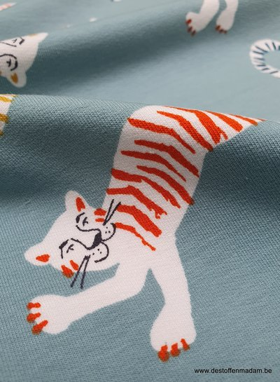 tiger french terry - super soft