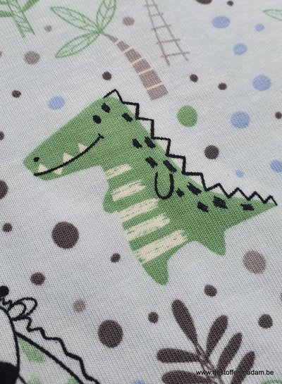 blauw - cute wild life - tricot
