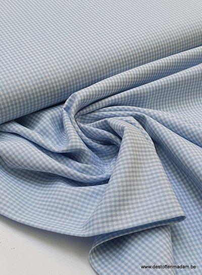 Swafing vichy mini cotton - blue