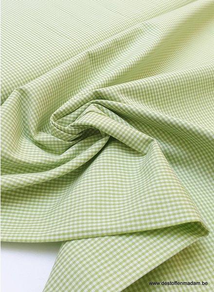 Swafing vichy mini cotton - green