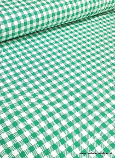 green vichy - jersey