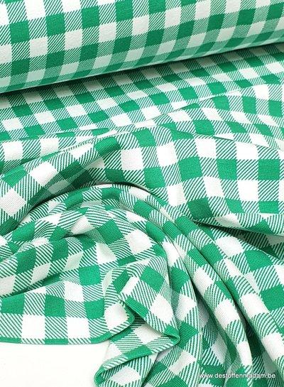 groene vichy - tricot