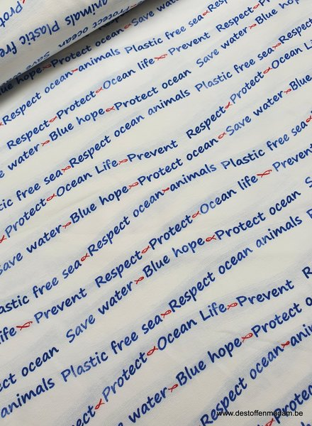 prevent - respect - protect the ocean life - jersey