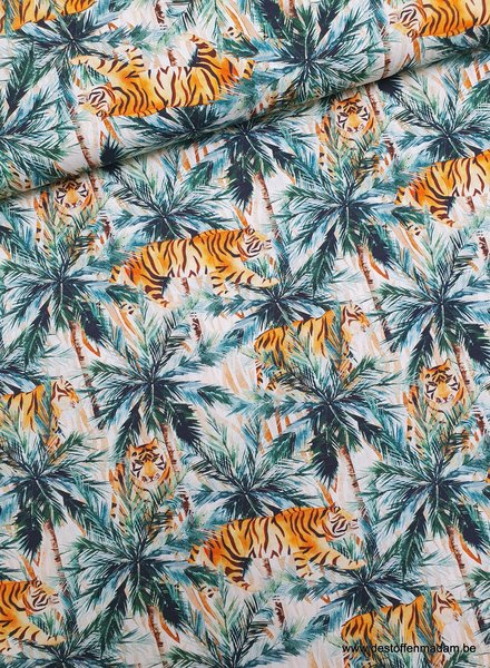 hunting tigers - cotton