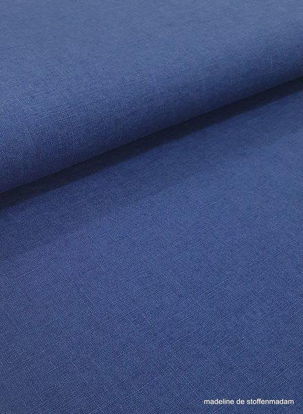 kobaltblauw - linnen