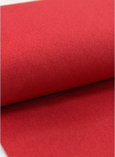 deco fabric red