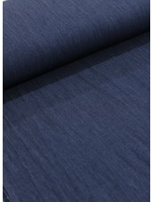 4.5oz - organic cotton - chambray - indigo - NON-stretch