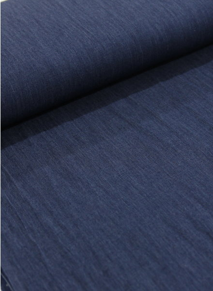 Fibremood 4.5oz - organic cotton - chambray - indigo - NON-stretch