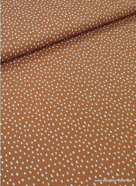 dreamy - dots - ocre