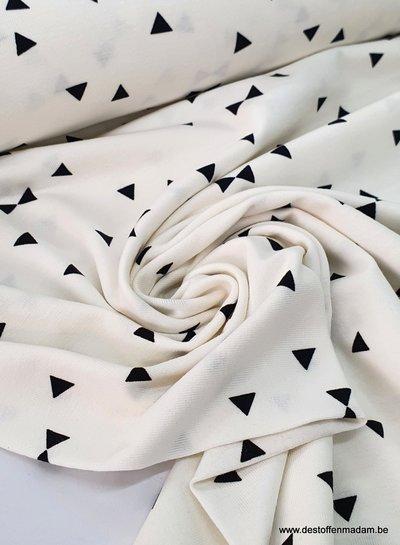 white - triangle - jersey