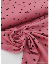 roze - triangle - tricot