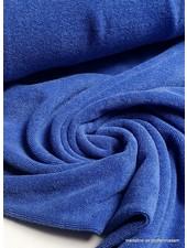 kobaltblauw spons - rekbare badstof