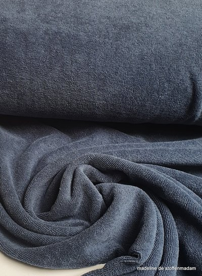 jeans stretch sponge or terry
