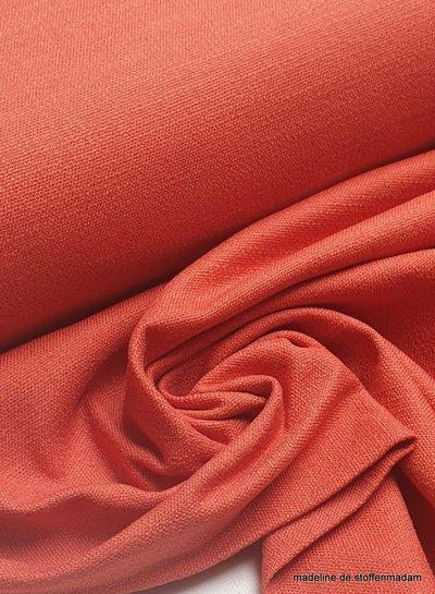 marsala- rekbaar linnen katoen mix - superzachte kwaliteit