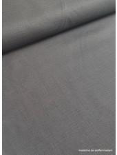 grijs - rekbaar linnen katoen mix - superzachte kwaliteit