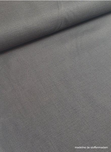 donkergrijs - rekbaar linnen katoen mix - superzachte kwaliteit