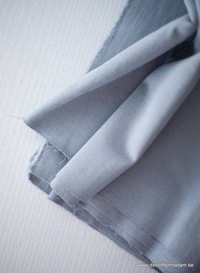 Mind The Maker 9 oz - sky blue -  washed cotton twill