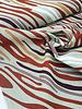 zebra mix - linnen look canvas