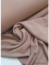 dusty pink  - modal stretch rib