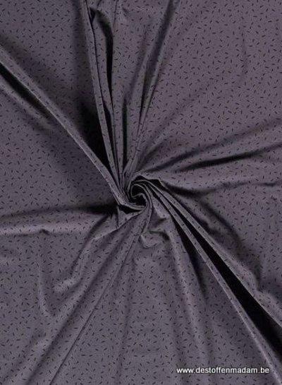 grey - confetti dashes - jersey