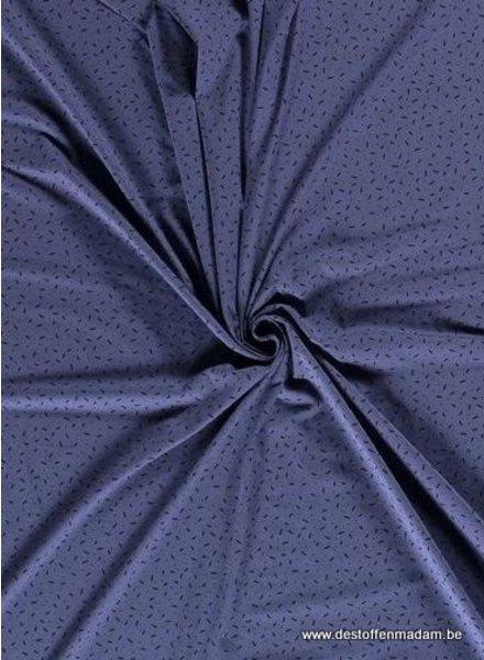 blue - confetti dashes - jersey