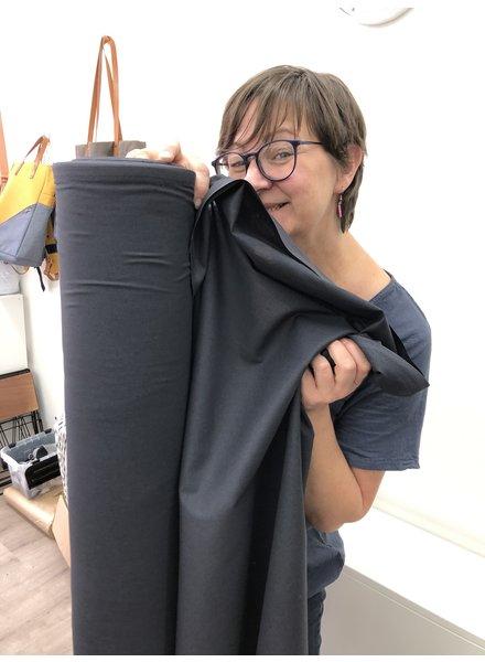 1 meter FACE MASK fabric carcoal - cotton