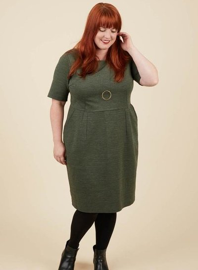 Cashmerette Rivermont dress and top - english pattern