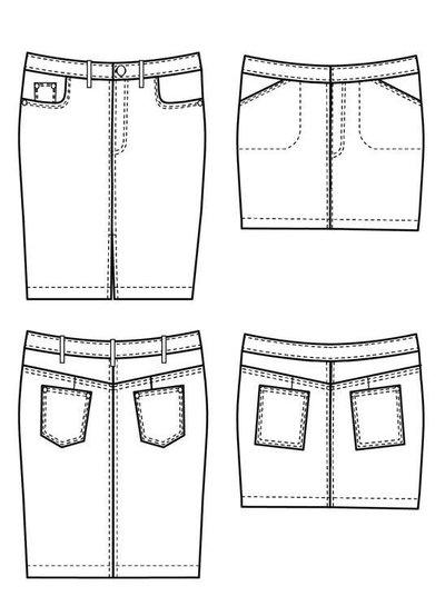 Cashmerette Ellis skirt - english pattern