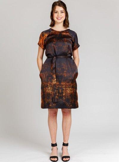 Megan Nielsen River dress and top - engels patroon