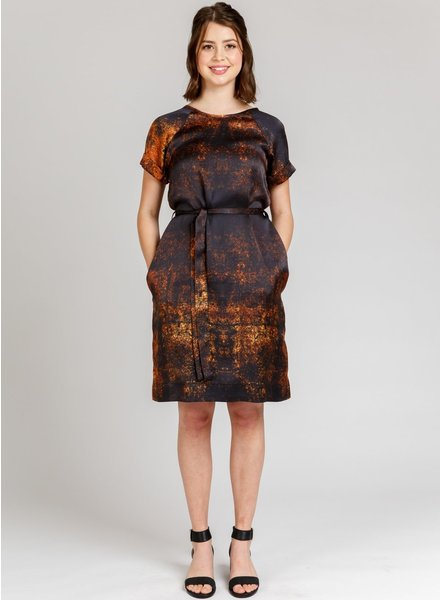 Megan Nielsen River dress and top - engels patroon