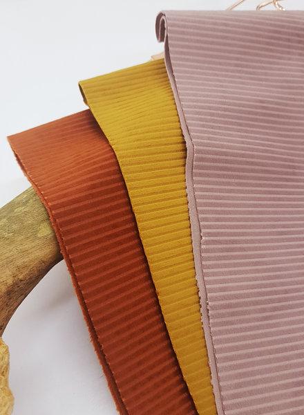dusty rose velvet corduroy - velvet deco fabric